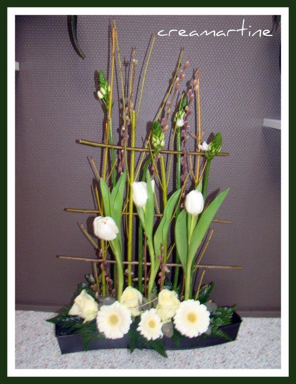 embarquement vers le printemps art floral patchwork. Black Bedroom Furniture Sets. Home Design Ideas