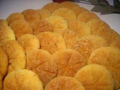 Harcha au four ou galettes de semoule Le Blog cuisine de Samar