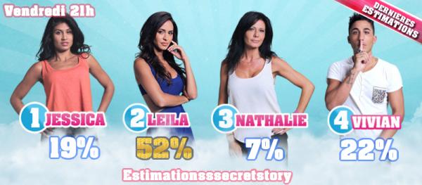 ESTIMATIONS - FINALE : Jessica / Leila / Nathalie / Vivian
