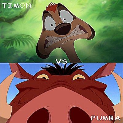 Timon vs pumba disney sondages - Les aventures de timon et pumba ...
