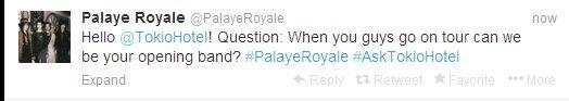 Twitter - Palaye Royal