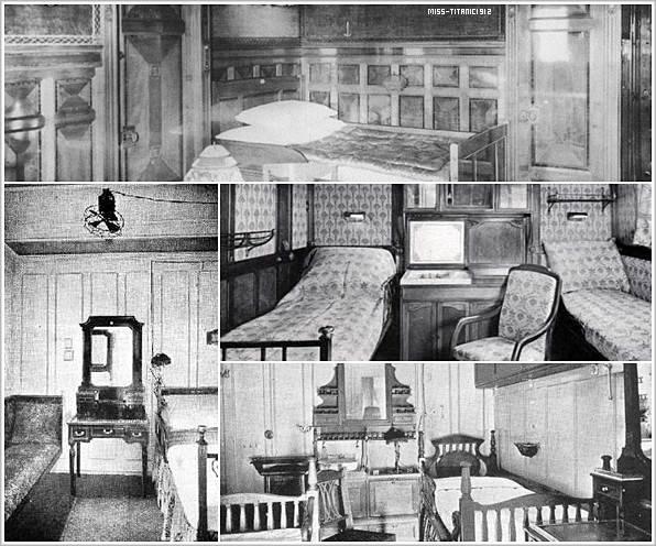 Les cabines de 1 re classe du titanic ta source sur for 1ere classe salon