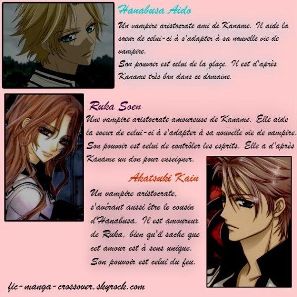 Personnages de Vampire Knight (par Mai dans la fiction)