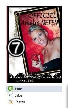 Facebook Officiel d'Am�lie Neten