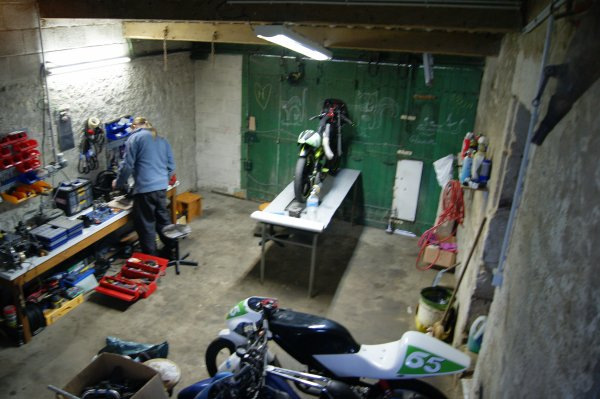 Am�lioration du garage!