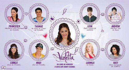 Introduction de la saison 2 de violetta fan de violetta - Musique violetta saison 2 ...