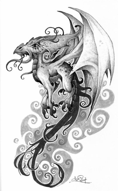 Dessin pour tattoo blog de best tattoo - Dessin de bebe dragon ...