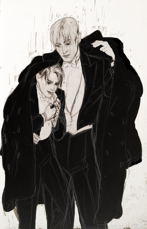 Revaille and Erwin ~ Nice artwork