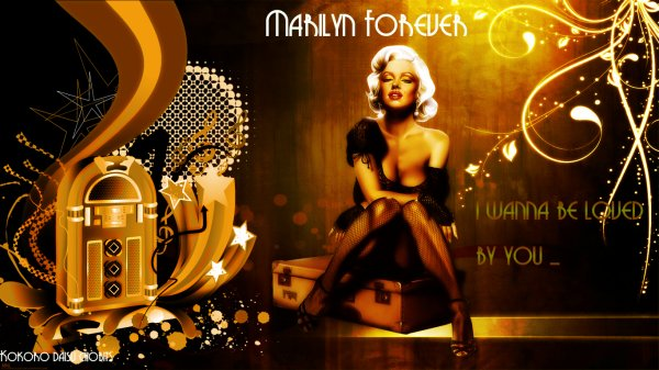 Marilyn Forever by me
