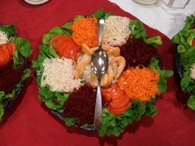 salade composee negafa toulouse salle de mariage orientale. Black Bedroom Furniture Sets. Home Design Ideas