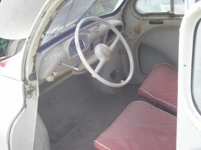 Interieur renault 4cv for Interieur 4cv