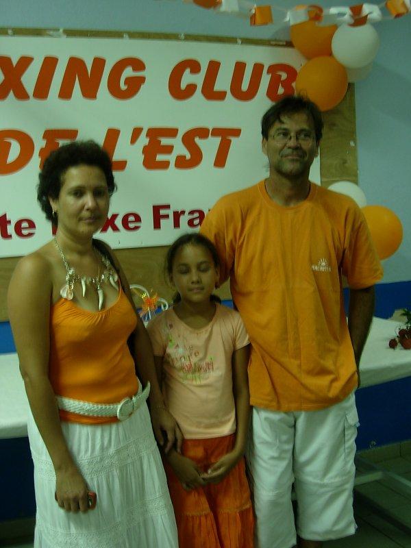 Quelques membres de notre ligue reunionnaise de boxe fran�aise