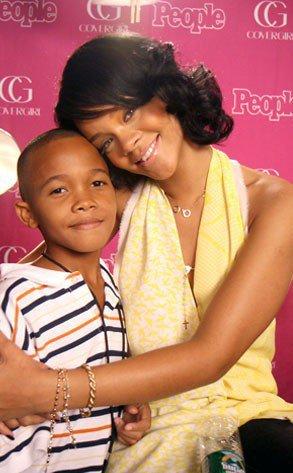 Rihanna et son fr&#232...