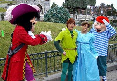 Le capitaine crochet peter pan wendy et mr mouche - Peter pan et capitaine crochet ...