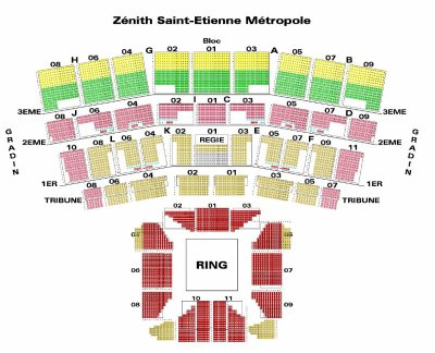 plan de salle saint etienne blog de shows wwe en france. Black Bedroom Furniture Sets. Home Design Ideas