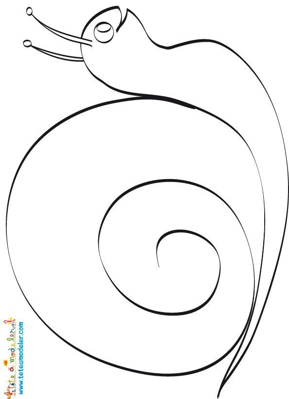 Mosaique escargot sand assmat - Dessin mosaique a imprimer ...