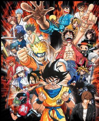 Image de plusieurs personnages de manga image manga26 - Poster avec plusieurs photos ...