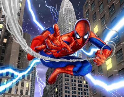Spiderman en dessin anim spider man - Dessin anime spidermann ...