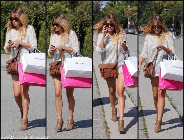 NEWS DE LAUREN FAISANT DU SHOPPING  !!!