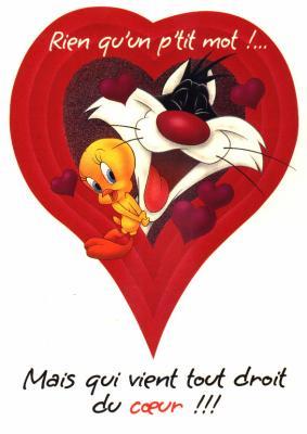 Bonjour et merci gros bisous a tous petit bonheur - Photo de coeur d amour ...