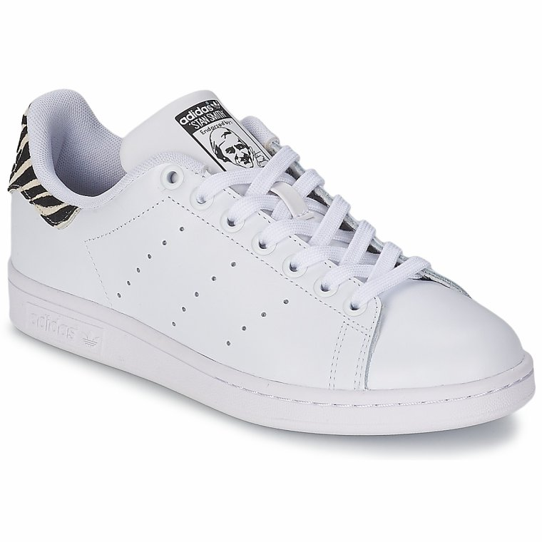 adidas originals stan smith w blanc noir prix spartoo tendance mode femme. Black Bedroom Furniture Sets. Home Design Ideas
