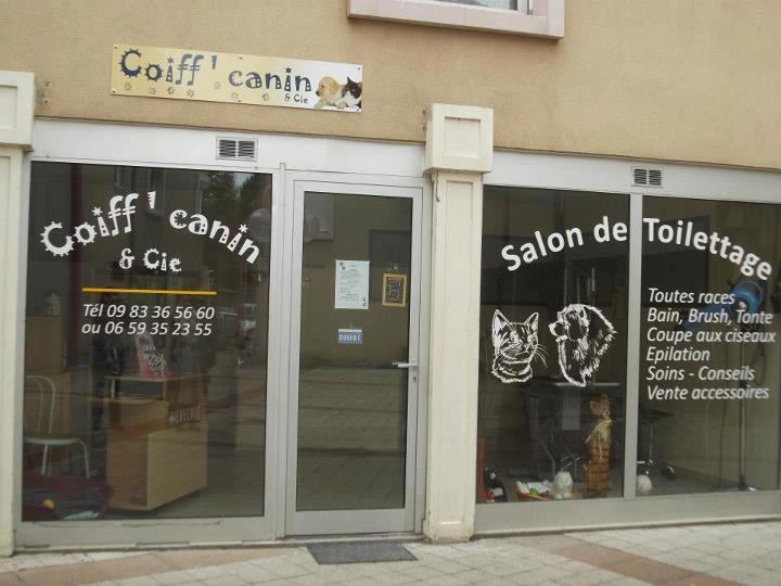 Enseigne salon de toilettage canin d couvrez for Salon toilettage