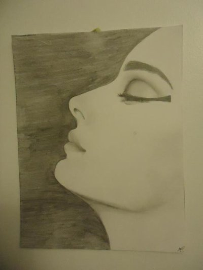 Profil d 39 une femme mes dessins - Profil dessin ...