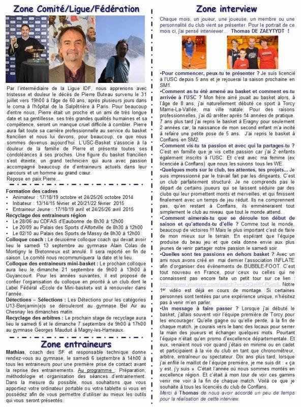 ZONE-PRESSE N�10 - SEPTEMBRE 2014