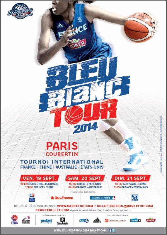 Tournoi International F�minin � Paris-Coubertin