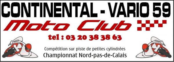 retrouver toutes les infos sur le site du  MOTO CLUB CONTINENTAL VARIO 59
