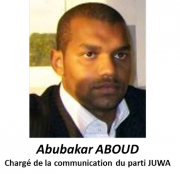 COMORES : INTERVIEW exclusive d'Abubakar ABOUD du parti JUWA
