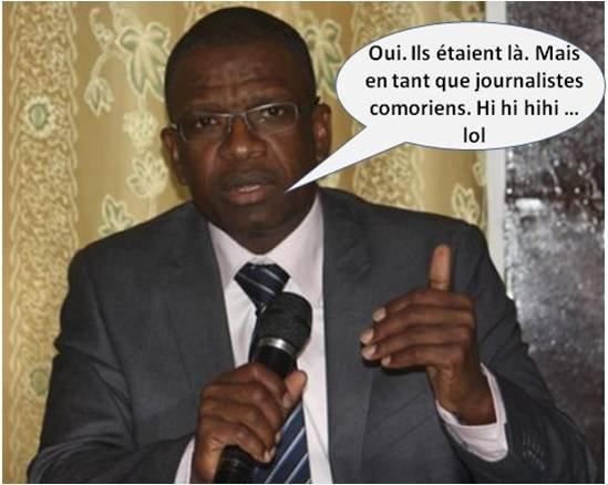 COMORES : Participation des mahorais aux travaux de la C.O.I