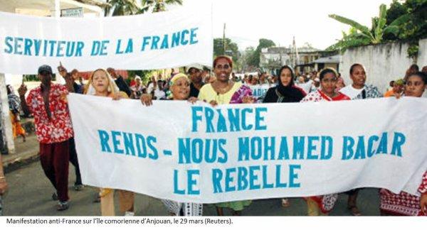 Le journal France Mayotte matin annonce le retour du dictateur BACAR