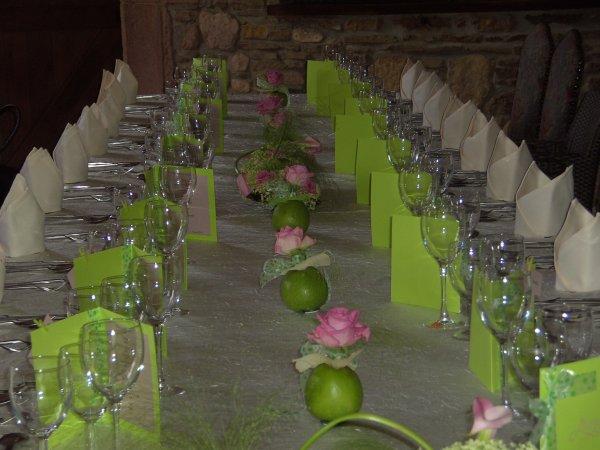déco de table pour une communion #4