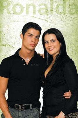 cristiano ronaldo et sa femme cristiano ronaldo. Black Bedroom Furniture Sets. Home Design Ideas