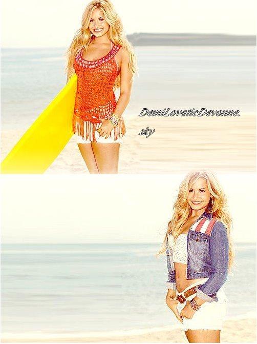 Deux Nouvelle photo de Demi pour Self Le magazine sortira au mois�d'Ao�t . Je la trouve magnifique sur ces photos�