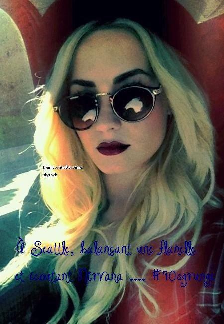 Demiboo a post� une tr�s belle photo d'elle sur sont twitter ( ddlovato ) que pensez vous de la photo ?