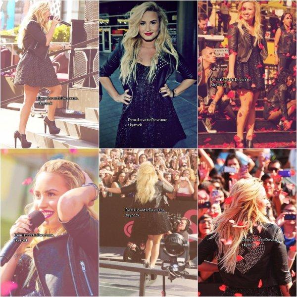 06.09.12 : Demi au VMA ou elle a pu rencontrer Niall Horan des One Direction :D