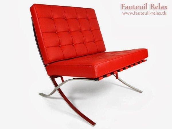 fauteuil barcelona rouge les meilleurs des fauteuils relaxation. Black Bedroom Furniture Sets. Home Design Ideas