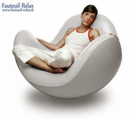 Fauteuil relax design blanc les meilleurs des fauteuils - Fauteuil relax design ...