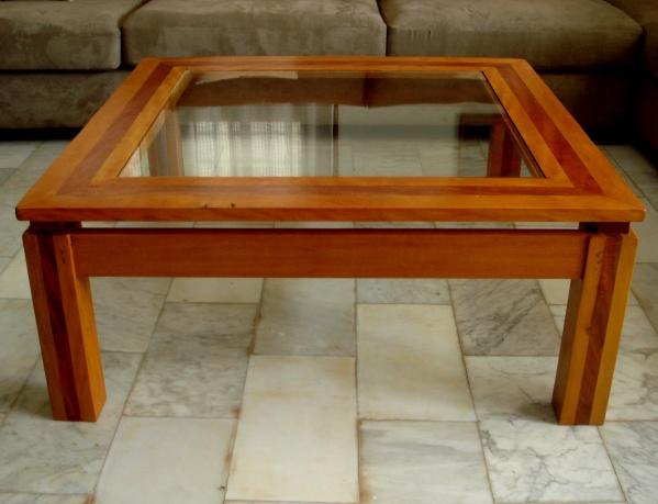 Table basse en bois dimb avec plaque de verre blog de q7design - Plaque de verre pour table basse ...