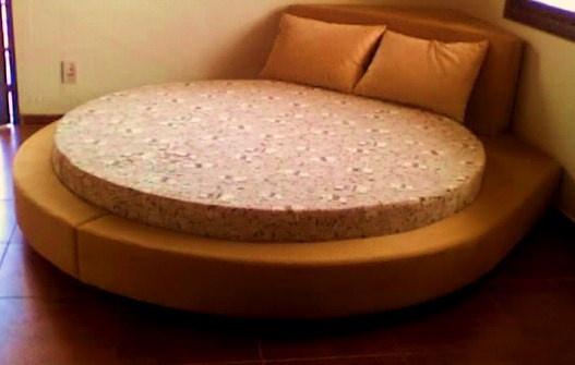 lit rond avec caisson dangle - Blog de Q7design