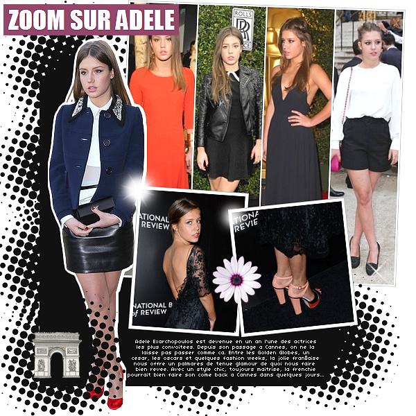 _'MODE_' | Le style d'Ad�le Exarchopoulos de retour � Cannes.