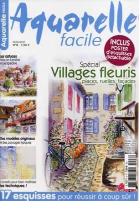 080 aquarelle facile n 8 artiste peintre aquarelles for Aquarelle facile
