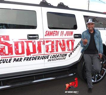 Le Hummer De Soprano Chez Nrj Reunion Limousine 974 By