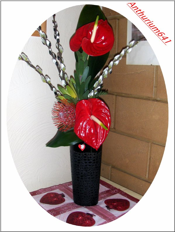 Composition florale saint valentin blog de anthurium641 for Comcomposition florale saint valentin