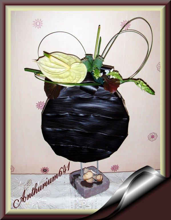 Composition avec feuilles de cordyline blog de anthurium641 - Cordyline feuilles qui jaunissent ...