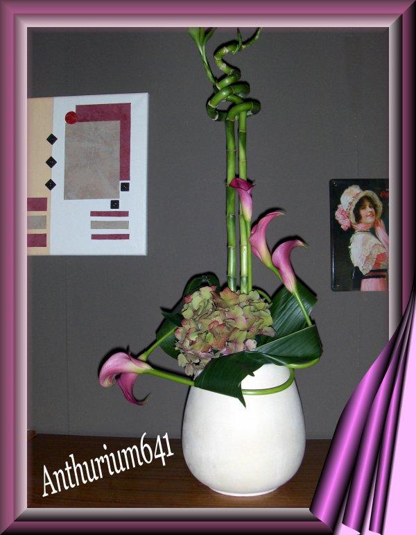 composition florale en hauteur blog de anthurium641. Black Bedroom Furniture Sets. Home Design Ideas