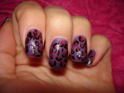 tutoriel ongles l�opard