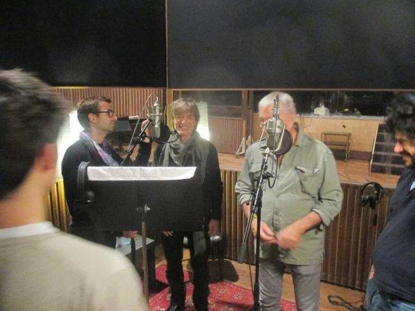 au studio Ferber avec Lavilliers et jean  louis aubert